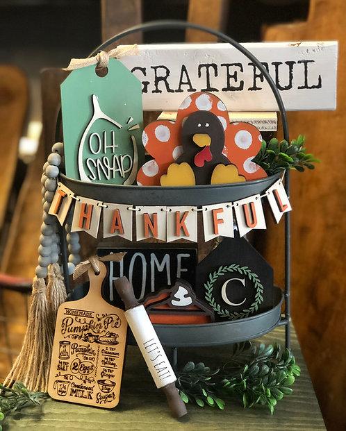 Thanksgiving Tray Set