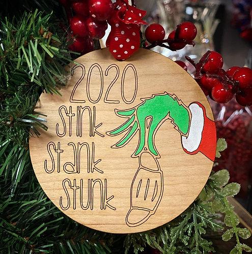 2020 Stink Stank Stunk Ornament