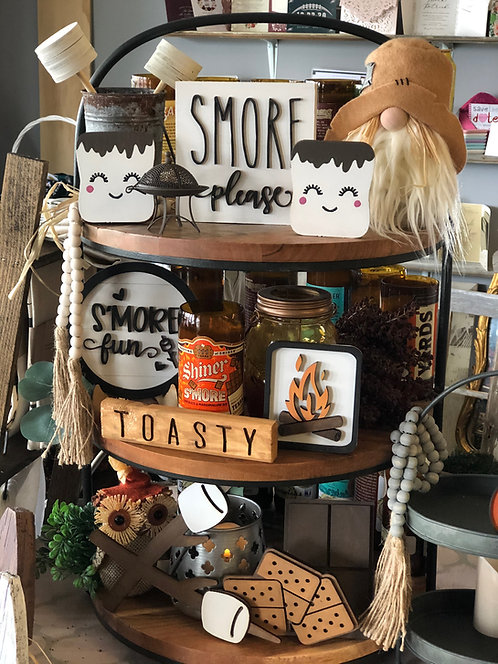 S'mores Tray Set