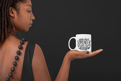 You are Stronger than you Think Mug