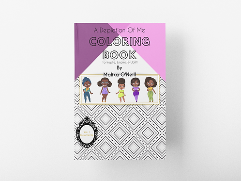A Depiction Of Me Coloring Ebook (Vol 1. Dress Me Up)