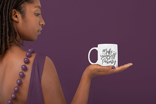 Make yourself a priority Mug