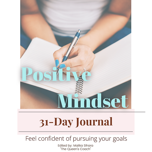 31-Day Positive Mindset Journal