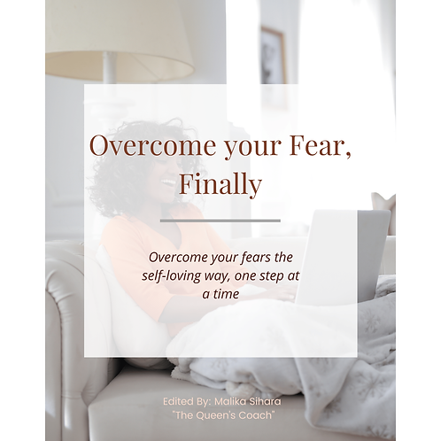 Overcome Your Fears Workbook