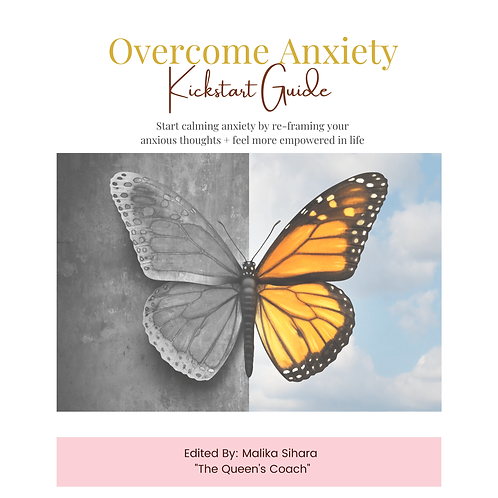 Overcome Anxiety Guide & Workbook