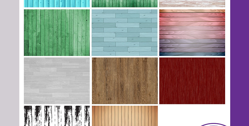 A3 Background Boards - Wood Effect