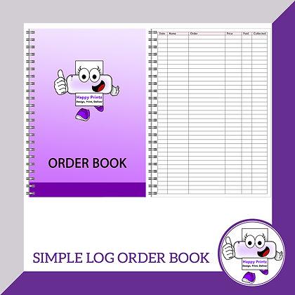 Order Book - Simple Log