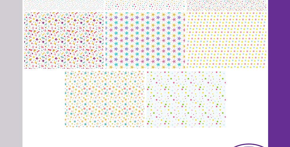 A3 Background Boards - Spots/Stars