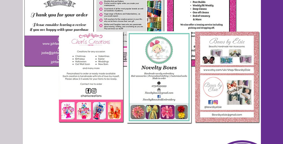 Printed Leaflets (Matte) - A4