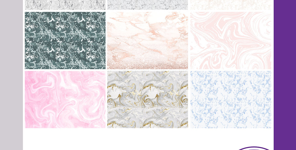 A3 Background Boards - Marble