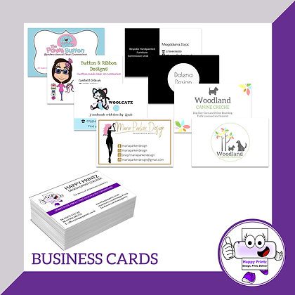 Business Cards -Silk