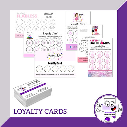 Loyalty Cards - Matte
