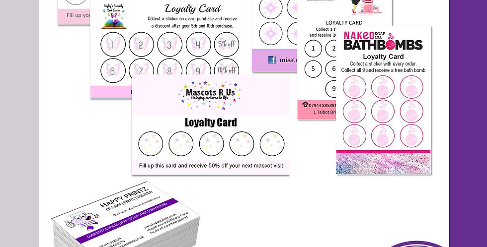 Loyalty Cards - Silk
