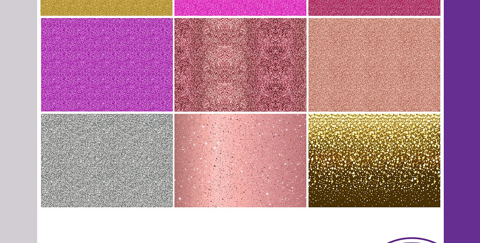 A3 Background Boards - Glitter Effect