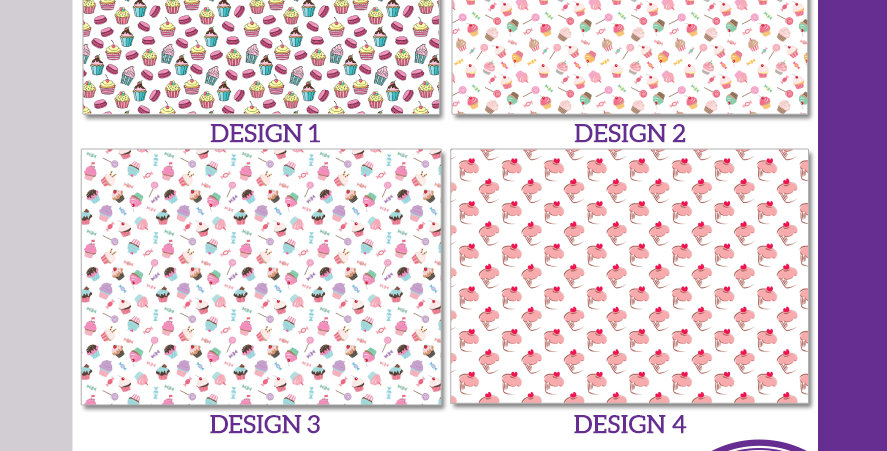 A3 Cake Photo Background Boards