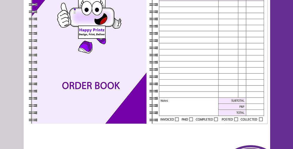 A5 Order Book - 1 per page