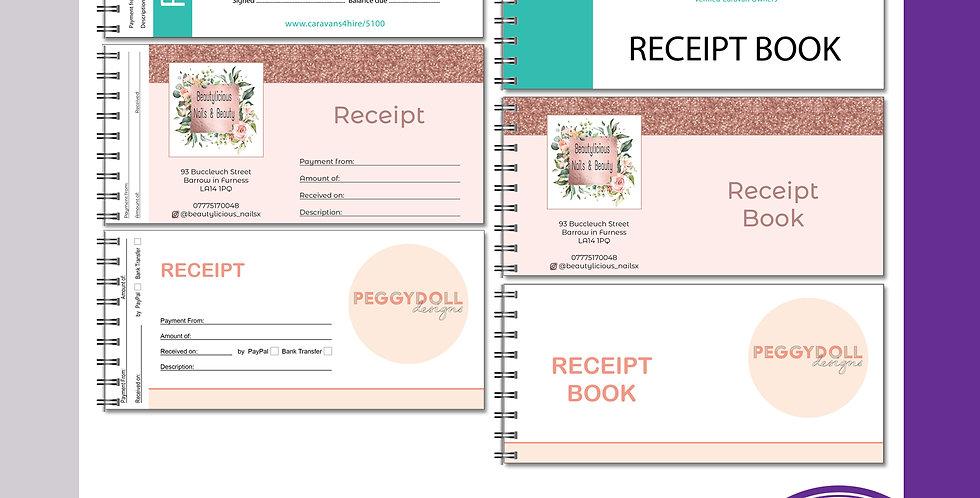 Receipt Book - DL