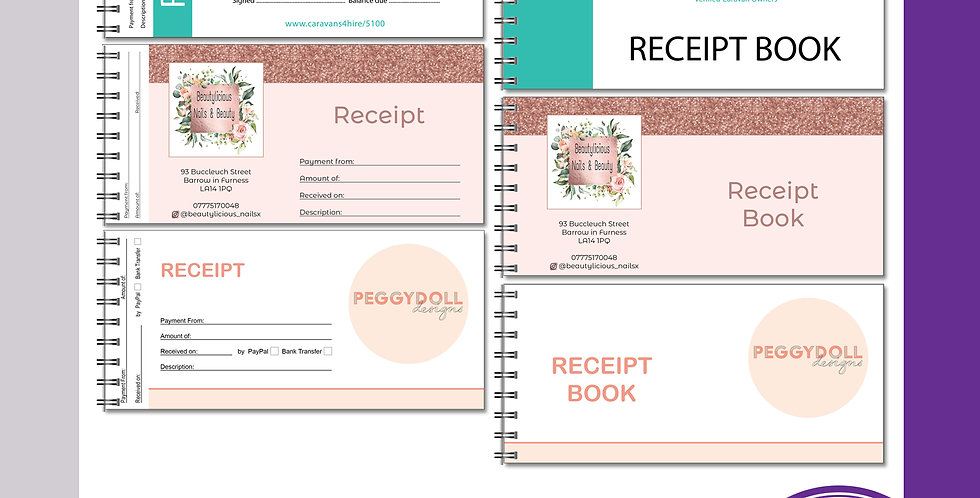 Duplicate Receipt Book - DL