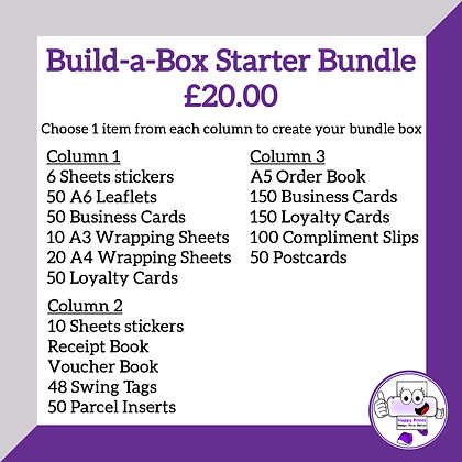 Build a Box - Starter