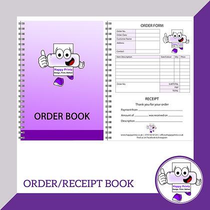 Order / Receipt Book