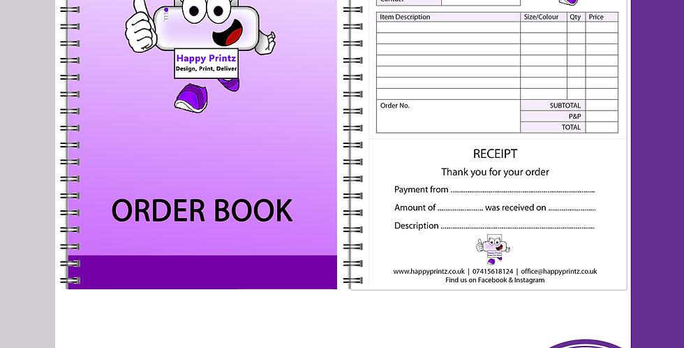 A5 Business Order / Receipt Book