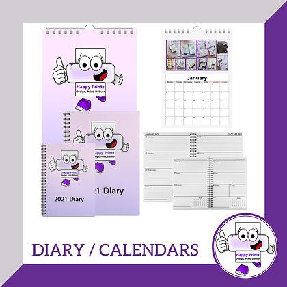 A4 Wall Calendar