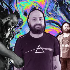 A reverberação e distorção espiritual sombria do guitarrista e vocalista Marcelo Maus