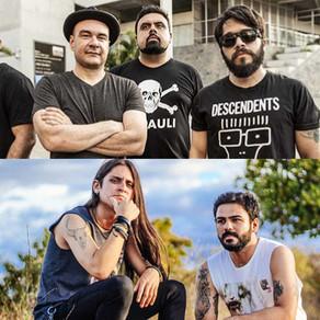 Backdrop Falls e Corona Nimbus abrem show da banda  sueca The Hellacopters