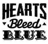 Hearts Bleed Blue