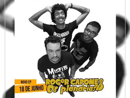 Roger Capone e Os Planárias anuncia lançamento de EP via Electric Funeral Records