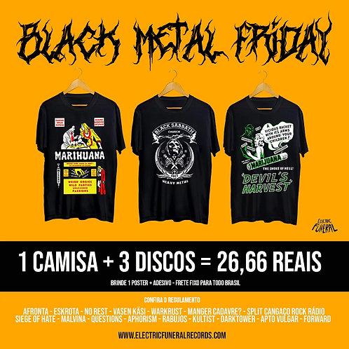 1 camisa + 3 discos