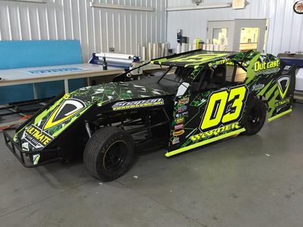 UTG Race Car Wrap 1