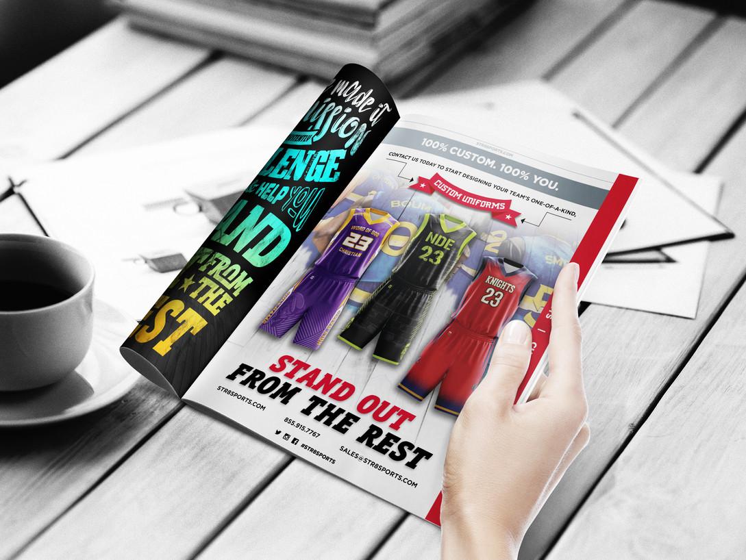 STR8 Sports Catalog - Spread 1