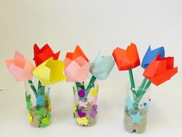 Tulpen vouwen met de iPad