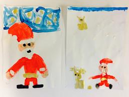 Schilder de Kerstman