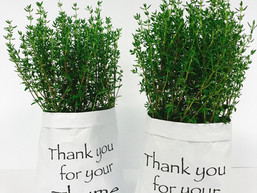 Thank you for your thyme!