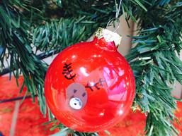 Rendier kerstballen