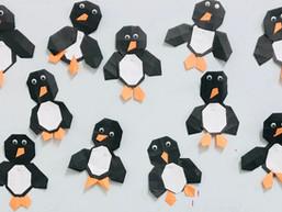 Pinguïn vouwen