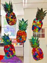 Frisse ananassen