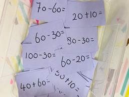 Rekenen met tientallen tot 100