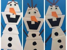 Olaf van Frozen vouwen