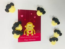 Valentijns apenkoppen