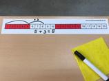 Getallenlijnsticker