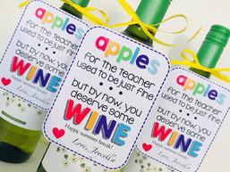 Wine for the teacher