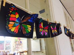 Vliegende vlinder 3D