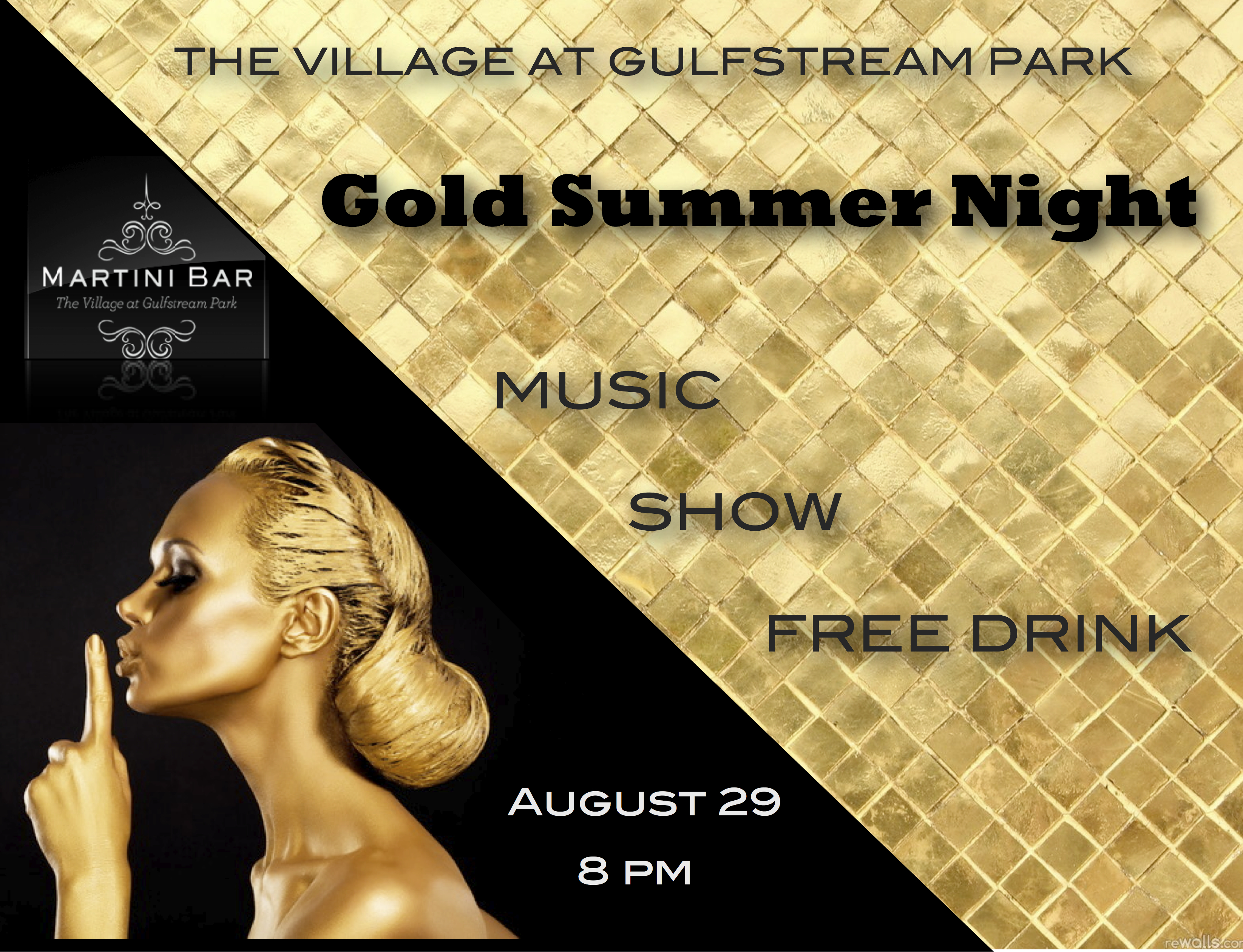 Gold Summer Night
