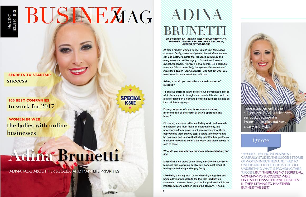 Interview with Adina Brunetti