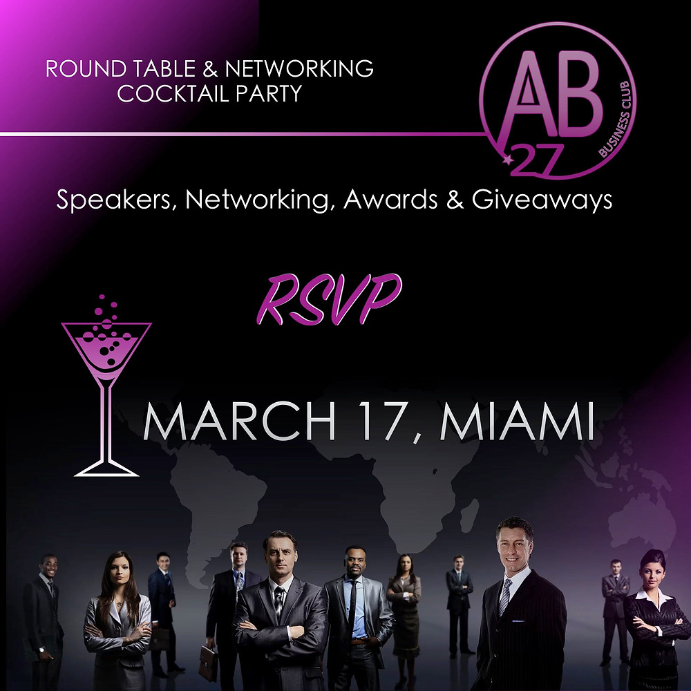 Business Networking Event in Miami