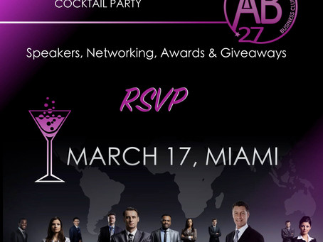 AB 27 Business Club Networking Event In Miami