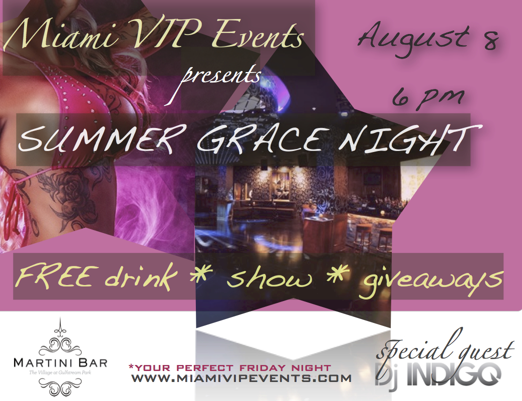 Summer Grace Night with DJ Indigo